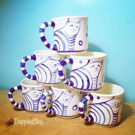 Cat Bum Mugs
