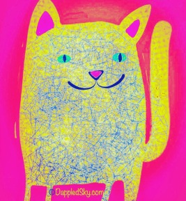 Cat Art and gift cards