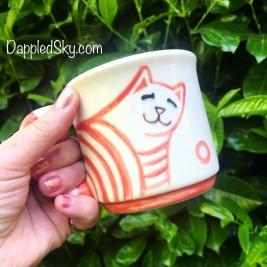 Ginger Cat Bum Mug