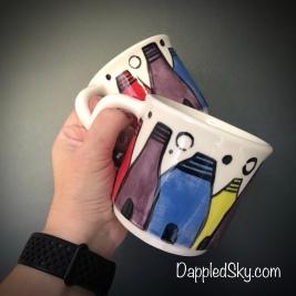 Potteries mugs